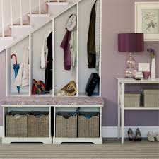 Pull Out Coat Rack Mudroom Mesmerizing White Stairs Three Pull Out Closet Cabinet 64