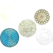 blue round placemats for round table navy blue round woven designs