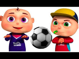 playing cartoon zool babies playing football single episode cartoon animation