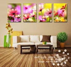 Living Room Canvas Paintings Aliexpresscom Buy 4 Panels Living Room Decorative Canvas