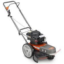 husqvarna 190 cc 22 in walk behind string trimmer mower