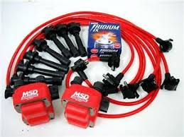 spark plug wires msd coil ngk 96 98 ford mustang gt wf8 image is loading spark plug wires msd coil ngk 96 98