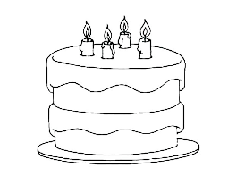 Birthday Candles Coloring Pages Free Printable Colouring Flextapeclub