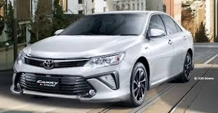 new car 2016 thai2015 Toyota Camry facelift range launched in Thailand