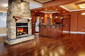 Rustic Kitchen Floors Picture Of Modern Rustic Kitchen With Hardwood Flooring Feat Stone
