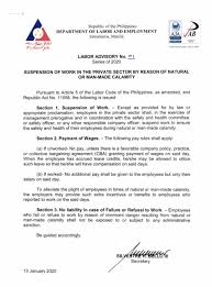 This contract, which is a legal document marks out the policies of the employer and the expected behaviour of the employee based on which mr. Hr Talk I Was Terminated During Ecq What Now And 11 Other Questions Answered About Getting Fired In The Philippines Tina In Manila