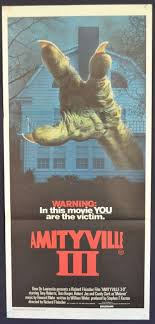 All About Movies - Amityville 3 The Demon Poster Original Daybill 1983