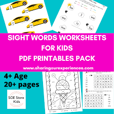 Jolly phonics for the whiteboard: Soe Store Kids Sight Words Pdf Downloadable Worksheets For Kindergarten Kids Teach Phonics Tricky Words Via Games Sharing Our Experiences