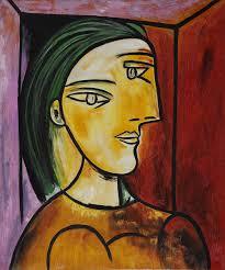 cubist oil painting 20 24 reion pablo picasso marie therese