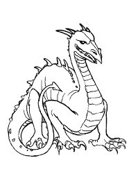 15 Tete Dragon Coloriage Simple