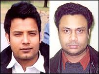 """""""Bhutto"""" (l) and Golam Mohammed Ali Chowdhury left Newbury - police - _40087059_rapesuspects203"""