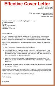 Cover Letter Examples For Applying For A Job Cover Letter Sample