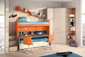 marvelous bunk bed with desk underneath in kids contemporary with building loft beds with desks next to