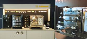 Nespresso Vending Machine Magnificent AirlineTrends Lufthansa Partners With Nespresso To Offer