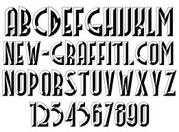 3d font styles alphabet