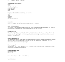 Examples Of Cover Letters For Jobs Thank You Letter Job Interview