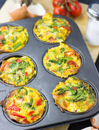 Image result for vegetable egg muffins picture
