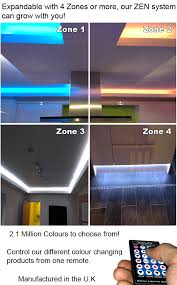 led mood lighting. zen controlling litewave rgb led strip and tape led mood lighting l