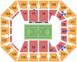 Mohegan Sun Arena Seating Chart Uncasville
