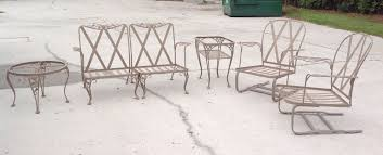 vintage 50 s woodard 6 piece chantilly rose wrought iron patio set woodard wrought iron patio