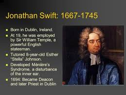 jonathan swift the age of reason english jonathan swift born jonathan swift 1667 1745 born in dublin at 19 he