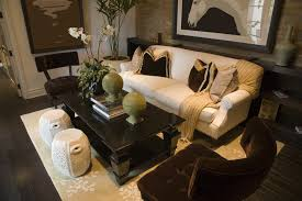 living rooms with white sofas. asian-inspired living room design with white sofa decorated black and gold pillows. rooms sofas a