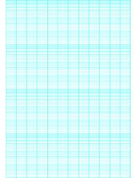 Printable Semi Log Paper 12 Divisions By 4 Cycle