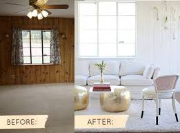 wall paneling makeover
