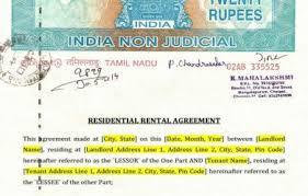 Rent Agreement Format Bangalore Doc 75 Main Group