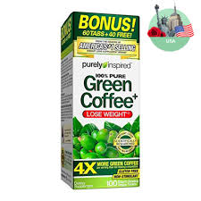 green coffee purely inspired 800 mg 100 tablet 100 pure green coffee 11street malaysia weight management