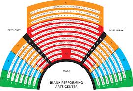 60 Correct Chrysler Hall Seating Chart Detailed