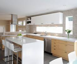 white cabinet furniture. White Oak Kitchen Cabinets With Gloss Accents By Craft Cabinetry Cabinet Furniture