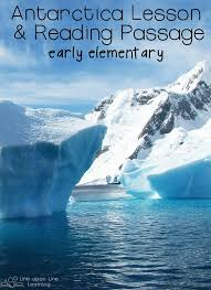 Antarctica Resources and Reading Comprehension Worksheet – Line ...