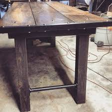 Box Frame Dining Table  Wood  West ElmIndustrial Look Dining Table
