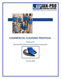 Cleaning Service Templates Free Commercial Cleaning Service Proposal Templates At