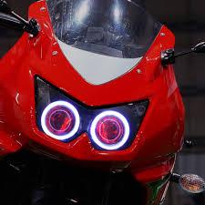 Led Lights For Ninja 250r Kt Headlight For Kawasaki Ninja 250r 2008 2012 Led Angel Eye