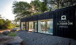 container office design. adaptive design shipping container turned into a stylish sales gallery office