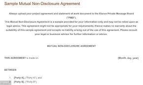 Nda Template Agreement Should You Use An Nda For Mobile App Development Everynda