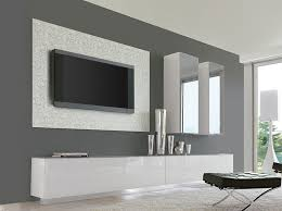 unico contemporary wall storage system with 2 cabinets and sideboard thumbnail