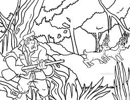 Small Picture Printable Hunting Coloring Pages For Kids Cool2bKids