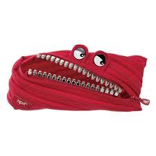 <b>Пенал</b>-сумочка <b>Zipit</b> GRILLZ POUCH, цвет красный — купить в ...