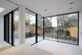 Decorations:Calm Design Bedroom Interior With Corner Window Ideas Modern  Large Glass Corner Window Design