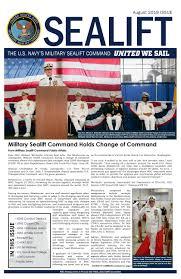 Military Sealift Command Pay Chart 2018 Sealift August 2019 By Military Sealift Command Issuu