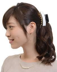 楽天市場ヘアクリップ 大 大きめ ヘアアクセサリー 髪留め シンプル