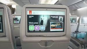 Emirates Flight Ek210 Seating Chart Cabin Tour New Emirates Boeing 777 300er Youtube