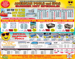 specials of the week pool service ad52 pool