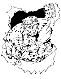 Small Picture Free Printable Incredible Hulk Coloring Pages H M Coloring Pages