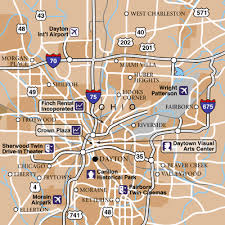 dayton international airport airport maps maps and directions to Dayton Map dayton area map dayton mapquest