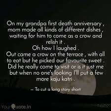 On My Grandpa First Death Quotes Writings By Soul Catcher