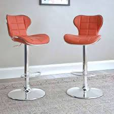 red swivel bar stools swivel metal red bar stools kitchen dining room furniture red faux leather swivel bar stools